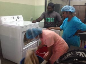 Colombo North Teaching Hospital - Ragama - Washing machine in Sri
