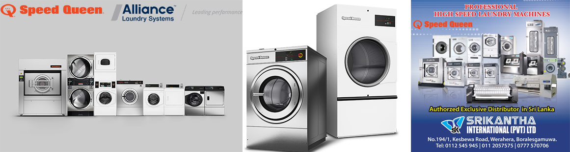 Speed Queen Washing Machine and Dryers by SriKantha Group